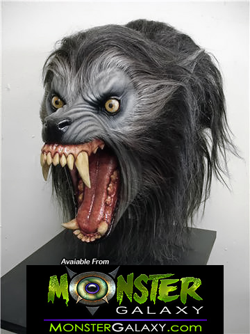 An American Werewolf in London Wolf Bust 1:1 scale