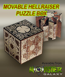 Hellraiser Puzzle Box - Hellraiser Movie Puzzle Box Prop Replica