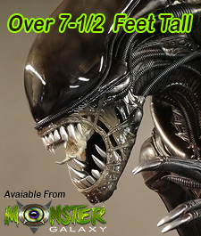 Lifesize Alien Warrior Prop 1:1 scale Lifesize Alien Figure  Lifesized Alien Replica, Horror, Sci-Fi Memorabilia, Movie Alien Prop Figures Monster Alien Movies and Hollywood Props & Movie Replicas